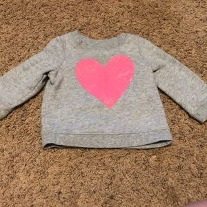 Other - Heart sweatshirt